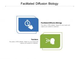 Facilitated Diffusion Biology Ppt Powerpoint Presentation Pictures Example Topics Cpb