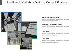 Facilitated Workshop Defining Current Process Behavior Skills Good Briefing