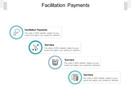 Facilitation Payments Ppt Powerpoint Presentation Infographics Demonstration Cpb