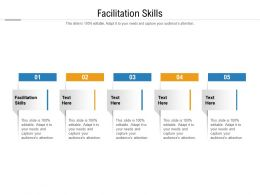 Facilitation Skills Ppt Powerpoint Presentation Layouts Rules Cpb