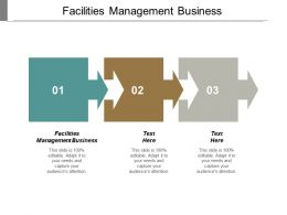 Facilities Management Business Ppt Powerpoint Presentation Layouts Model Cpb