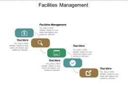 Facilities Management Ppt Powerpoint Presentation Outline Slideshow Cpb