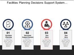 Facilities Planning Decisions Support System Management Career Path Cpb