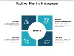 Facilities Planning Management Ppt Powerpoint Presentation Slides Smartart Cpb