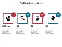 Facilities Strategic Goals Ppt Powerpoint Presentation Infographic Template Templates Cpb