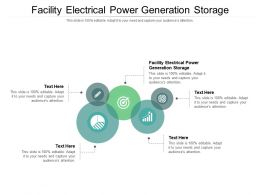 Facility Electrical Power Generation Storage Ppt Powerpoint Presentation Inspiration Pictures Cpb