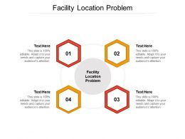 Facility Location Problem Ppt Powerpoint Presentation Pictures Images Cpb