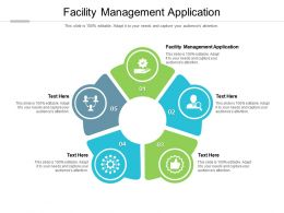 Facility Management Application Ppt Powerpoint Presentation Outline Rules Cpb
