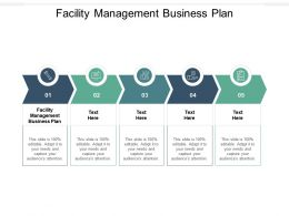Facility Management Business Plan Ppt Powerpoint Presentation Inspiration Shapes Cpb