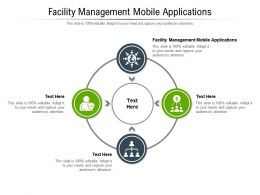 Facility Management Mobile Applications Ppt Powerpoint Presentation Professional Layout Ideas Cpb