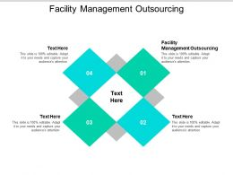 Facility Management Outsourcing Ppt Powerpoint Presentation Outline Templates Cpb
