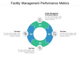Facility Management Performance Metrics Ppt Powerpoint Presentation Layouts Designs Download Cpb