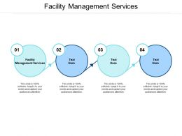 Facility Management Services Ppt Powerpoint Presentation Professional Graphics Pictures Cpb