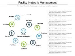 Facility Network Management Ppt Powerpoint Presentation Show Styles Cpb