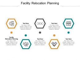 Facility Relocation Planning Ppt Powerpoint Presentation Pictures Templates Cpb