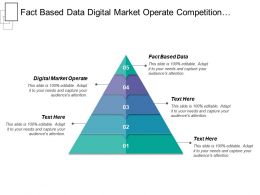 Fact Based Data Digital Market Operate Competition Created