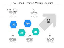 Fact Based Decision Making Diagram Ppt Powerpoint Presentation Outline Influencers Cpb