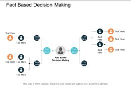 Fact Based Decision Making Ppt Powerpoint Presentation Slides Icons Cpb