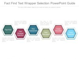 Fact Find Text Wrapper Selection Powerpoint Guide