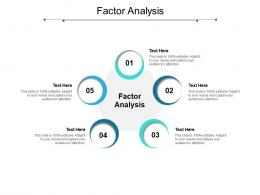 Factor Analysis Ppt Powerpoint Presentation Pictures Model Cpb