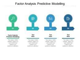 Factor Analysis Predictive Modelling Ppt Powerpoint Presentation Sample Cpb