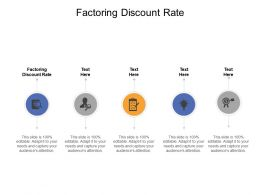Factoring Discount Rate Ppt Powerpoint Presentation File Example File Cpb