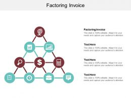 Factoring Invoice Ppt Powerpoint Presentation Summary Format Ideas Cpb
