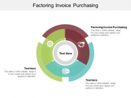 Factoring Invoice Purchasing Ppt Powerpoint Presentation Gallery Example File Cpb