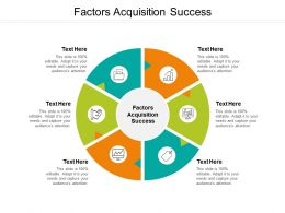 Factors Acquisition Success Ppt Powerpoint Presentation Styles Slides Cpb