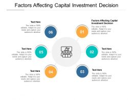Factors Affecting Capital Investment Decision Ppt Powerpoint Example Cpb