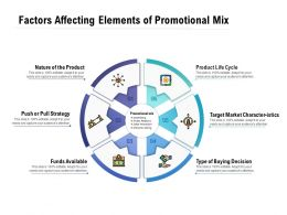 Factors Affecting Elements Of Promotional Mix