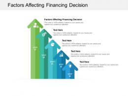 Factors Affecting Financing Decision Ppt Powerpoint Presentation Images Cpb