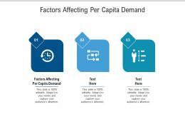 Factors Affecting Per Capita Demand Ppt Powerpoint Presentation Ideas Picture Cpb