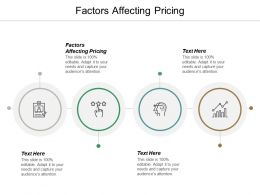 Factors Affecting Pricing Ppt Powerpoint Presentation Portfolio Outline Cpb