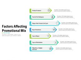 Factors Affecting Promotional Mix
