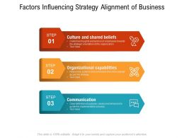 Factors Influencing Strategy Alignment Of Business