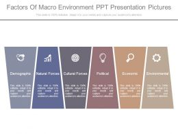 Factors Of Macro Environment Ppt Presentation Pictures