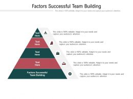 Factors Successful Team Building Ppt Powerpoint Presentation Introduction Cpb