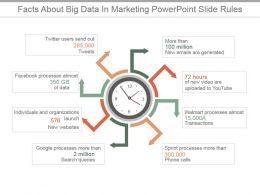 Facts About Big Data In Marketing Powerpoint Slide Rules