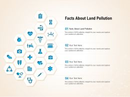 Facts About Land Pollution Ppt Powerpoint Presentation Pictures Graphic Images