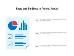 Facts And Findings In Project Report