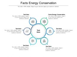 Facts Energy Conservation Ppt Powerpoint Presentation Show Diagrams Cpb