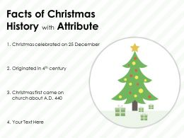 Facts Of Christmas History With Attribute