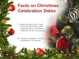 Facts On Christmas Celebration Dates