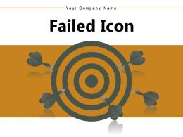 Failed Icon Individual Storage Executive Appraisal Symbol