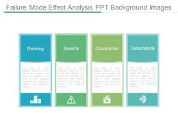 Failure Mode Effect Analysis Ppt Background Images