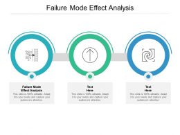 Failure Mode Effect Analysis Ppt Powerpoint Presentation Inspiration Elements Cpb