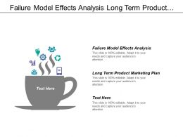 Failure Model Effects Analysis Long Term Product Marketing Plan
