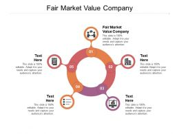 Fair Market Value Company Ppt Powerpoint Presentation Outline Graphics Download Cpb