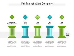 Fair Market Value Company Ppt Powerpoint Presentation Slides Clipart Cpb